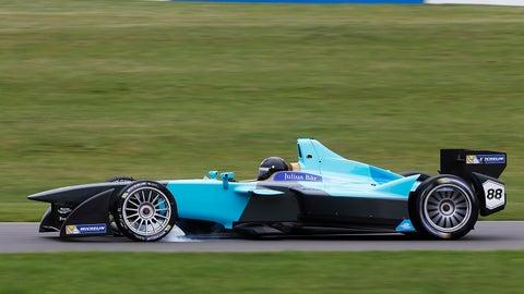 Oliver Turvey - NEXTEV TCR Formula E Team