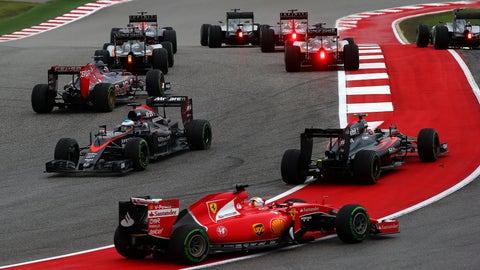 F1: U.S. GP photos