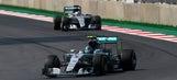 F1: Rosberg holds off Hamilton to win Mexican Grand Prix