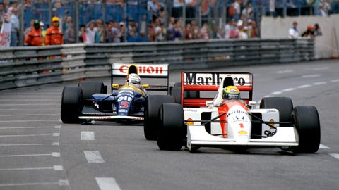 34. 1992 Monaco GP