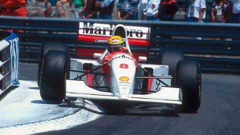 39. 1993 Monaco GP