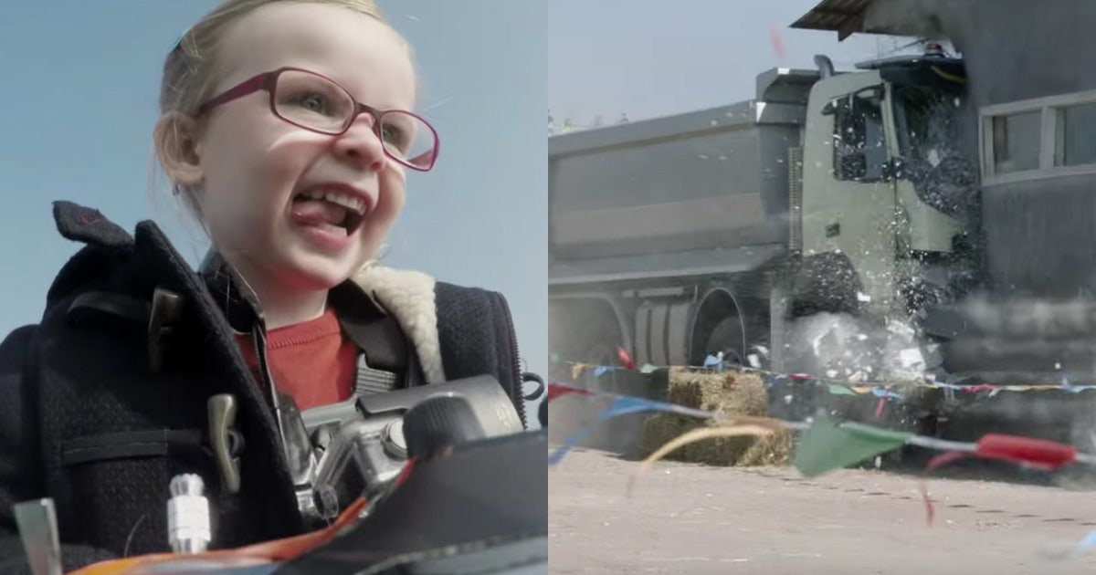 4-year-old drives, crashes Volvo truck via remote control   FOX Sports