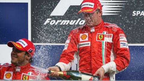 6. Kimi Raikkonen: 62%
