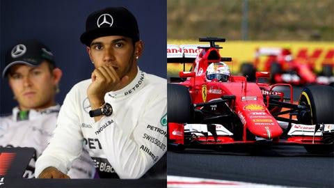 2. Lewis Hamilton/Sebastian Vettel: 89%