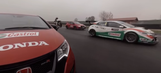 Honda pits Civic R, touring car and MotoGP bike together in 360 video