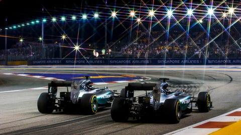Singapore GP - Rosberg vs. Hamilton