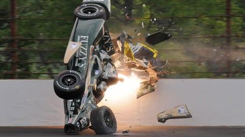 Indy 500 practice - Ed Carpenter