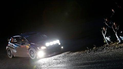 Monte Carlo Rally - Sebastien Ogier