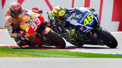 Assen TT - Marquez vs. Rossi