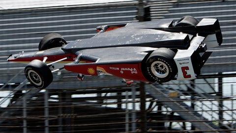 Indy 500 practice - Helio Castroneves
