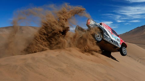 Dakar Rally - De Villiers/Von Zitzewitz