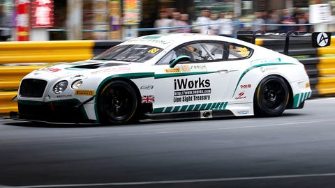 8. Bentley Continental GT3