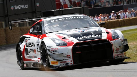 7. Nissan GT-R NISMO GT3