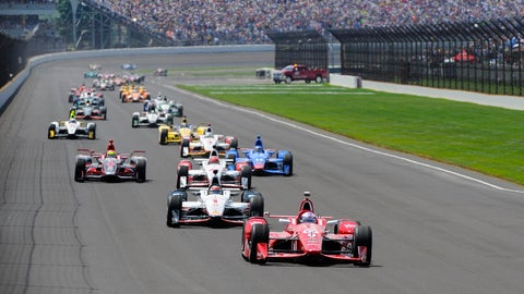 Run in the Indy 500: $1 million