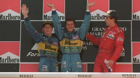12. 1995 Spanish GP