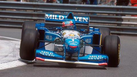 13. 1995 Monaco GP