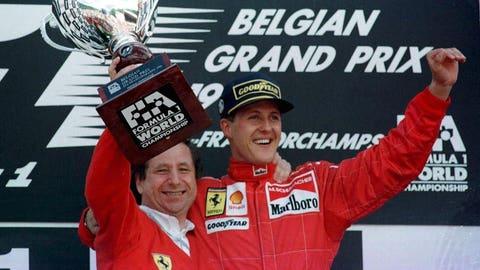 21. 1996 Belgian GP