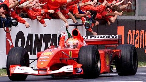 45. 2001 Australian GP