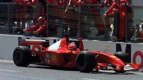 50. 2001 French GP