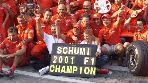51. 2001 Hungarian GP