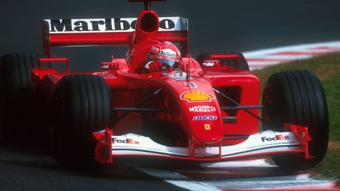52. 2001 Belgian GP