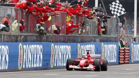 60. 2002 British GP