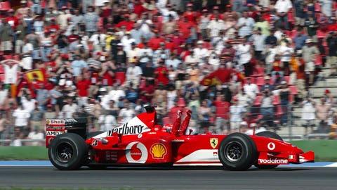 62. 2002 German GP