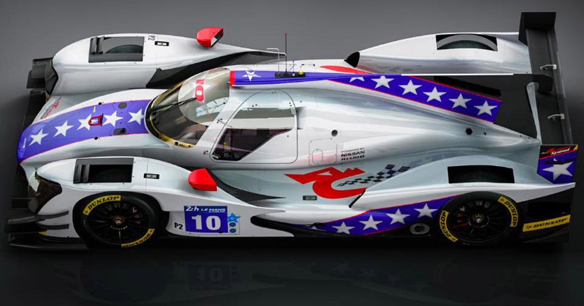 This sports car 39 s paint scheme is simply evel fox sports Cleveland motors inc