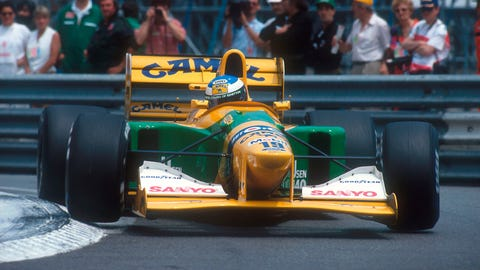 1992 - Benetton B192 Ford
