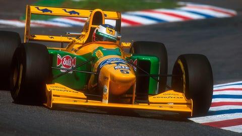 1993 - Benetton B193 Ford