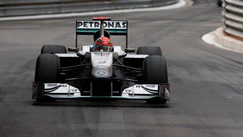 2010 - Mercedes GP W01