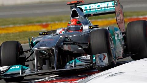 2011 - Mercedes GP W02