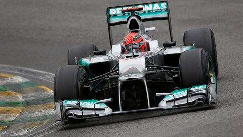 2012 - Mercedes AMG F1 W03