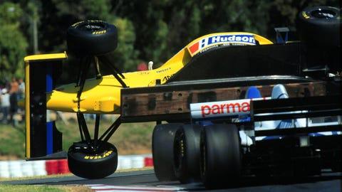 Luca Badoer – 1996 Buenos Aires