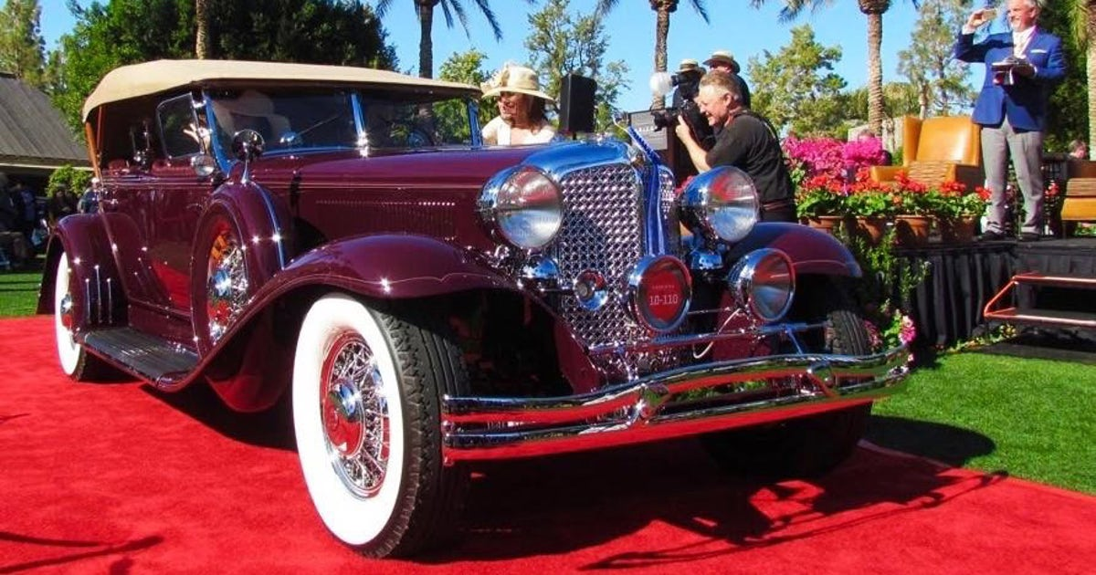 Winners From The 2016 Arizona Concours Fox Sports