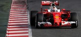 Vettel tops the times in Spain as new F1 cars take to the track