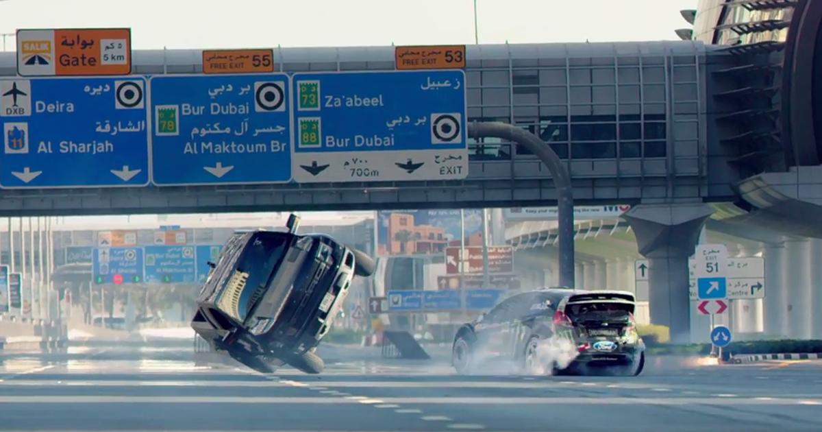 Ken Block tears up the streets of Dubai in Gymkhana Eight ... Gymkhana Pittsburgh