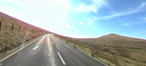 Control the camera in drive along the Isle of Man TT course