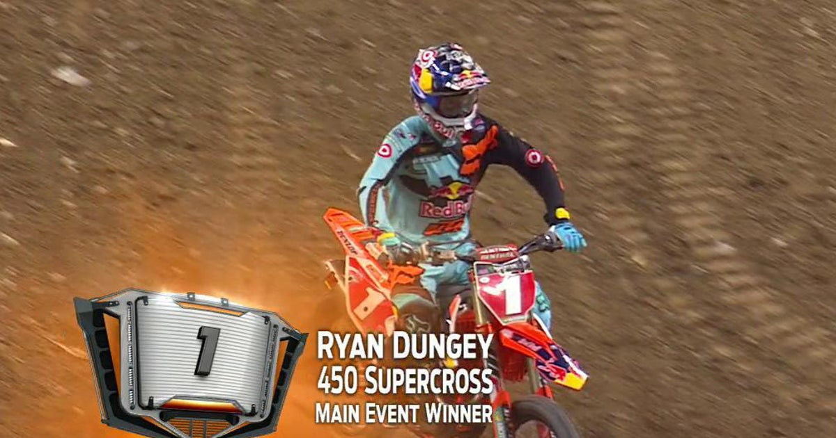 Dungey Docked Two Positions After Detroit Supercross