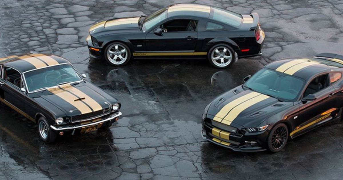 Fox Car Rental Oakland: Custom Ford Mustang Shelby GT-H Is Ready To...rent
