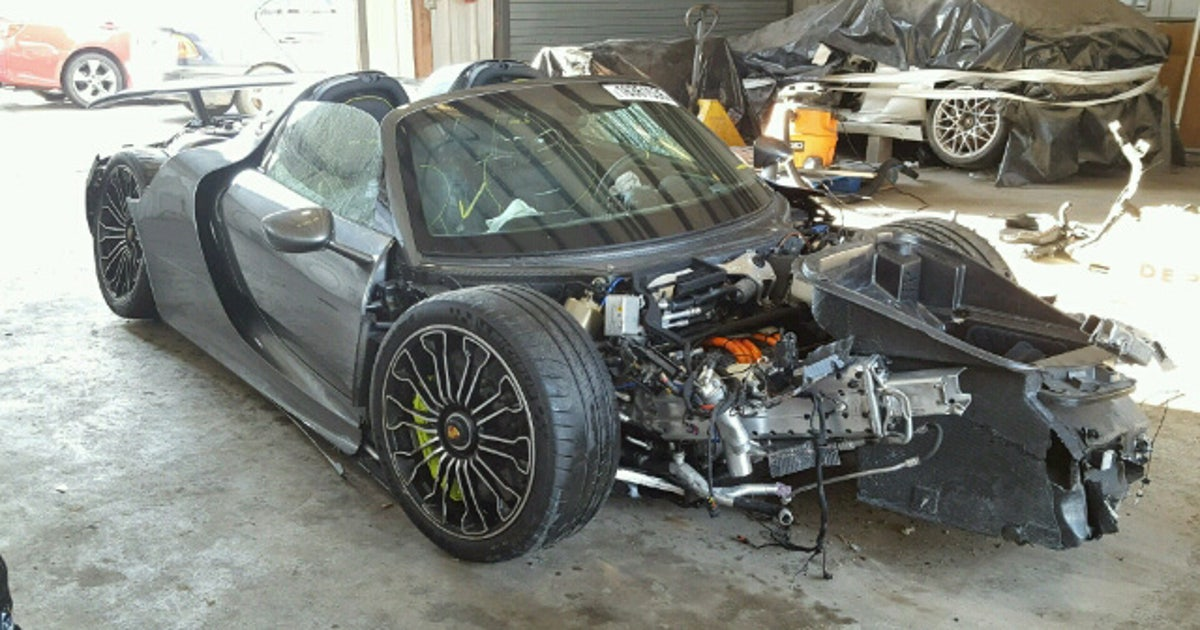This Porsche 918 Spyders A Bargain If You Ignore That Its