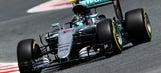Nico Rosberg tops Friday times in Spain, Ferrari close behind