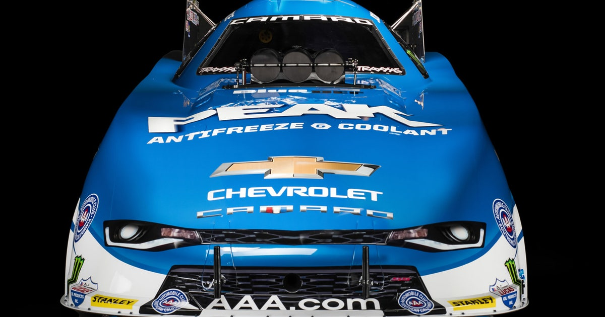 Check Out John Forces New Nhra Funny Car Ride Fox Sports
