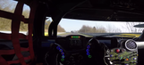 Helmet cam gives you driver's perspective of a lap at the Nurburgring
