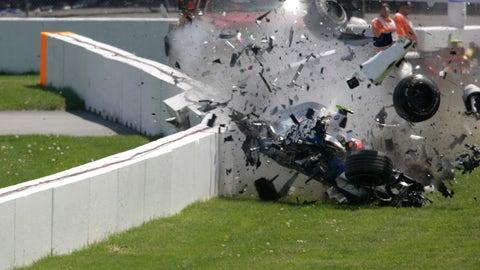 Robert Kubica crash - 2007 Canadian GP