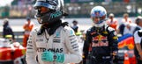 Nico Rosberg drops to third with 10-second time penalty at British GP