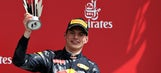 Max Verstappen gets second straight podium finish in F1