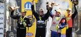 John Force ecstatic to get first win of 2016 after beating daughter