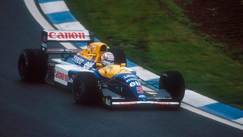 3. Williams FW14B