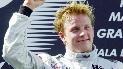 Kimi Raikkonen - 2003 Malaysian GP